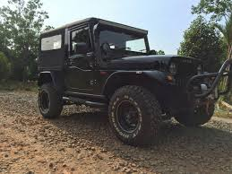2015 Mahindra Thar Fully Customised This Is A Huge List That Goes