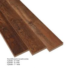 12mm Laminate Flooring With Pad by Bruce Butterscotch Homestead Random Width 12mm Laminate Flooring