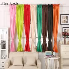Cotton Drapery Panels Online Get Cheap Cotton Curtain Panels Aliexpress Com Alibaba Group