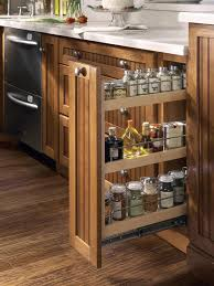 Kitchen Drawers Instead Of Cabinets by Cabinetry Trends In 2014 Specialty Cabinets Pull Out Spice Rack