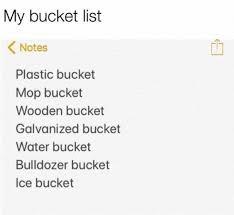 Meme List - my bucket list meme xyz