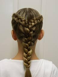 two dutch braids into a french braid bonita hair do gymnastics