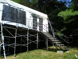 platform tent ny production rentals