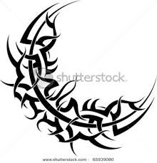 moon designs stock vector tribal moon 65939080