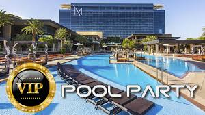 M Casino Las Vegas Buffet by Vip Pool Party M Resort Spa And Casino Rock Into Spring Las