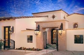 Spanish Style Exterior Paint Colors - spanish style homes with flat roofs house design plans