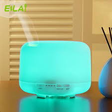 mist humidifier air ultrasonic humidifiers aroma essential essential oil electric aroma diffuser 500ml air purifier cool mist