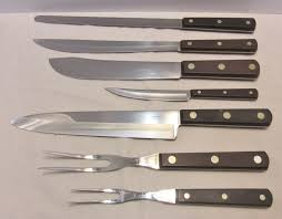 Cutco Kitchen Knives 7 Generation Cutco Knives In 2 Trays 31 32 33 34 35 36