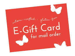 email gift certificates mail order e gift card mariposa baking co