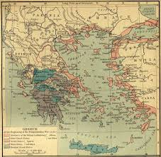 Greek Map Map Of Ancient Greece