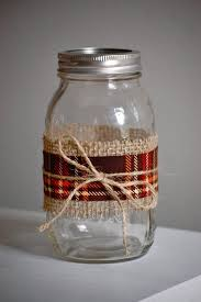 Mason Jar Home Decor Ideas Best 25 Mason Jar Burlap Ideas On Pinterest Jars Jar Crafts