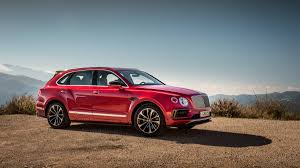 bentley red 2016 2017 bentley bentayga suv review with price horsepower and photo