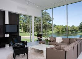 Modern Home Living Room Pictures Panoramic Windows Design And Using In Modern Homes Ideas Small
