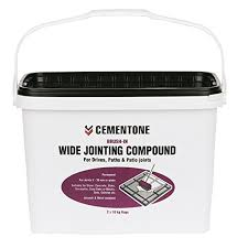 Patio Jointing Compound Cementone Wide Jointing Compound Natural Buff 20kg Amazon Co Uk
