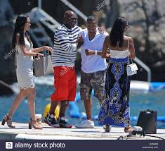 rapper nas enjoys a day with friends at the hotel du cap eden roc