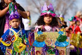 mardi gras parade costumes mardi gras parade at washington elementary school new mexico
