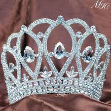 halloween crowns and tiaras online get cheap large pageant crowns aliexpress com alibaba group