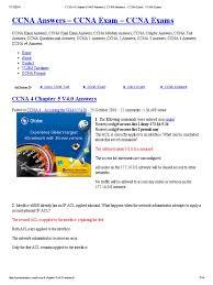 ccna 4 chapter 5 v4 cisco certifications port computer