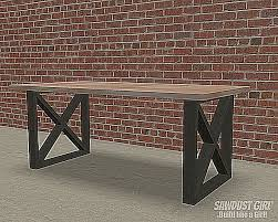 Plans For Making A Round Picnic Table by 12 Free Dining Room Table Plans For Your Home