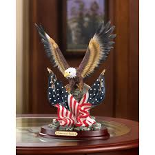 patriotic eagle statue sculpture wholesale at koehler home decor