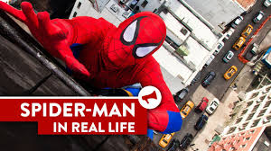 spider man leaps 20 story building manhattan saves