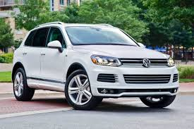 volkswagen white car used 2014 volkswagen touareg for sale pricing u0026 features edmunds