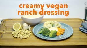 vegan ranch dressing recipe kaiser permanente youtube