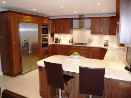 nice kitchen design ideas classy small kitchen layouts with breakfast bar elegant