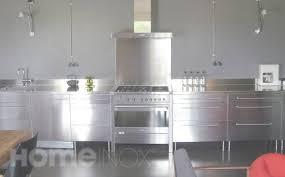 pied inox cuisine table meuble cuisine table avec plateau bois pliable pour faire
