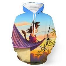 stylish low price dragon ball z hoodies and apparel
