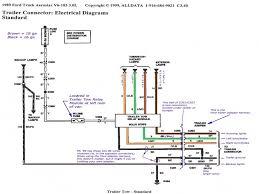 1996 ford f250 trailer wiring diagram ford super duty wiring