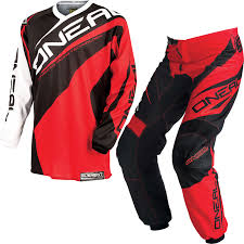 oneal motocross gear oneal element kids youth childrens 2015 racewear red enduro mx atv
