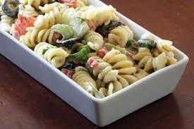 pasta salad with mayo garden pasta salad recipe with rotini