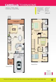 Townhome Floor Plan by Camellia Townhome For Sale In Lauderdale Lakes Bella Vista