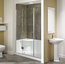 Bathroom Shower Stalls With Seat Shower Stalls With Seat From Acrylic Useful Reviews Of Shower
