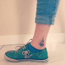 92 cool designs for your ankles tattoozza