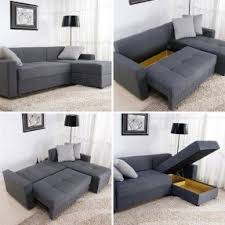 Sectional With Sofa Bed Tiny Sectional Sofa Foter