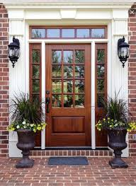 pleasurable front door exterior home deco contains strong wooden best 25 traditional front doors ideas on colors for