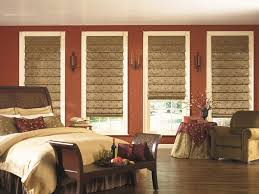 Curtains Inside Window Frame Beautiful Blackout Roman Shades In Bedroom Modern With Bedroom