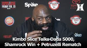 is kimbo angling for petruzelli rematch mma full contact