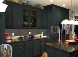 Painting Kitchen Cabinets Black By Mocha Tile Backsplash Painting Kitchen Cabinets Black Brown