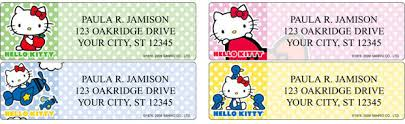 hello address labels custom printing deals