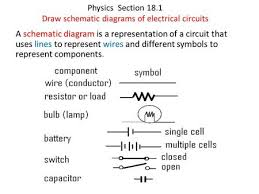 circuit symbols i have used a range of electrical components to