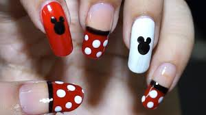 home design for beginners nail at home easy cool mickey mouse design in steps