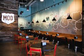 Pizza Restaurant Interior Design Ideas Houston Texas Mod Pizza Restaurant Mural Graffiti Usa