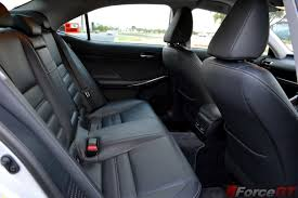 lexus is300h performance tuning 2014 lexus is300h rear seats forcegt com