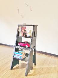 Library Step Stool Chair Combo Ladder Chair Library Chair 11 Steps With Pictures