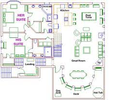 dual master suite home plans floor plan of traditional house plan 92322 home home