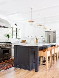 California Kitchen Design by Home Tour A Crisp Edgy And Eclectic Family Home Kitchens
