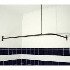 Rubbed Bronze Curtain Rod 27 Best Curtain Bars All Types Images On Pinterest Bathroom